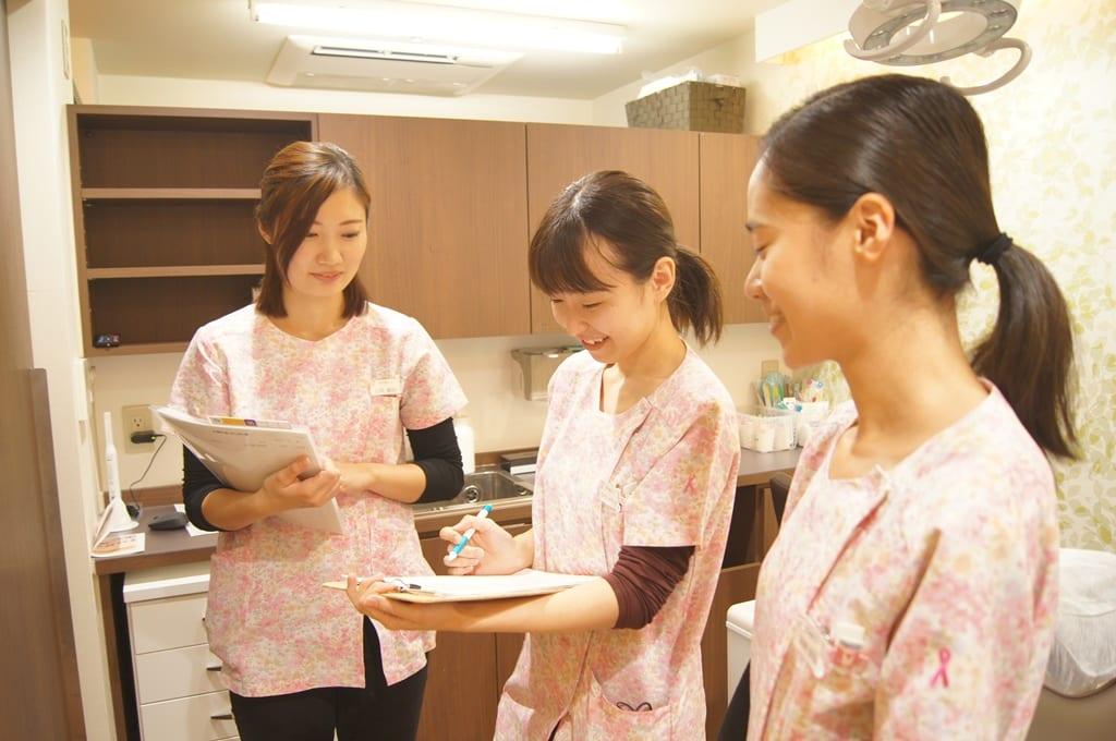 歯科衛生士の意見情報交換